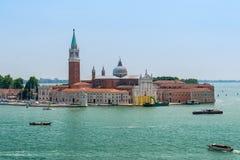 Город воды Венеции стоковое изображение rf
