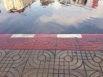 Город в воде стоковое фото rf