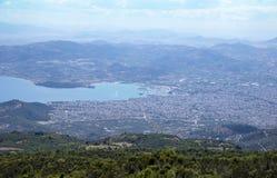 Город в Греции Стоковое Фото