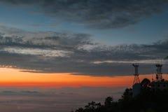 Город в небе Стоковая Фотография