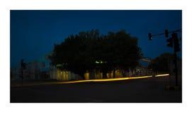 Город в нерезкости Стоковая Фотография