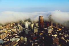 Город в облаках Стоковое фото RF