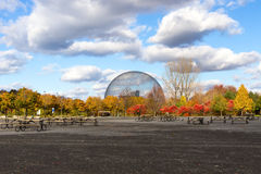 Город в осени, Канада Монреаля Стоковые Изображения RF