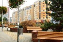 Город в осени Стоковое фото RF