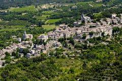 Город в Провансали, южной Франции стоковое изображение
