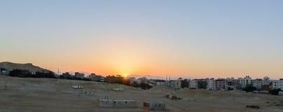 Город в пустыне Стоковое Фото