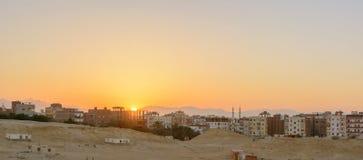 Город в пустыне Стоковое фото RF