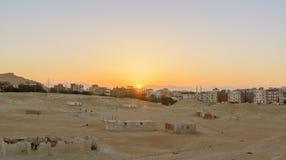 Город в пустыне Стоковые Изображения RF