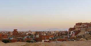 Город в пустыне Стоковые Фото