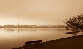 Город Гамбурга Стоковые Фотографии RF