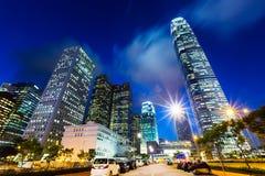 Город Гонконга стоковая фотография rf