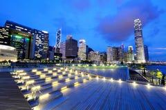 Город Гонконга стоковое изображение rf