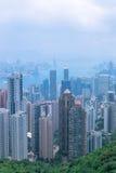 Город Гонконг Стоковое Изображение
