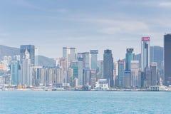 Город Гонконг Стоковое фото RF