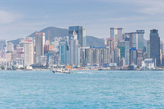 Город Гонконг Стоковые Фотографии RF
