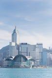 Город Гонконг Стоковое Изображение RF