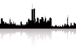 Город горизонта Стоковое Изображение RF