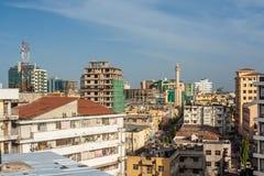 Город Дар-эс-Салама Стоковая Фотография