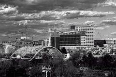 Город Денвера Стоковая Фотография