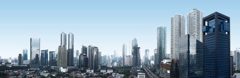 Город Джакарты Стоковые Изображения RF