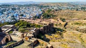 Город Джодхпура Стоковое Изображение