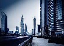Город Дубай Стоковое фото RF