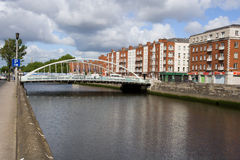 Город Дублина в Ирландии Стоковое фото RF