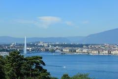 Город Женевы Стоковые Изображения