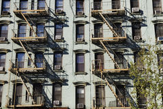 город живя New York квартиры Стоковая Фотография
