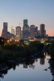 Город заболоченного рукава реки (вертикальный) Стоковые Фото