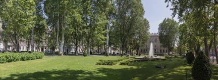 Город Загреба Стоковые Фото