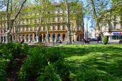 Город Загреб в Хорватии Стоковые Изображения RF