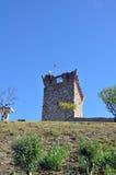 Город замка Orem средневековый, Португалия Стоковое фото RF