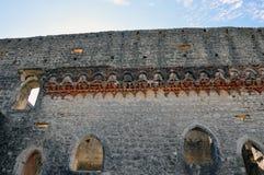 Город замка Orem средневековый, Португалия Стоковые Изображения RF