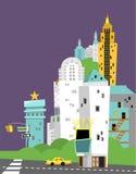 Город звезды Стоковые Фотографии RF