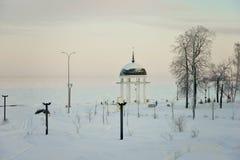Город зимы Стоковые Фото