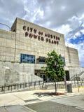 Город здания электростанции Остина Стоковая Фотография