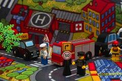Город игрушки Стоковая Фотография