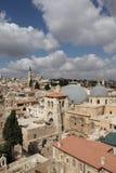 город Иерусалим старый Стоковое Изображение
