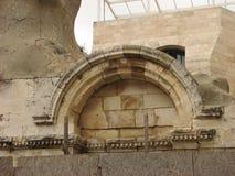 город Иерусалим старый еврейская четверть стоковые фотографии rf