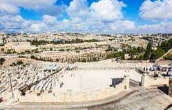 город Иерусалим Стоковые Фотографии RF