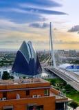 Город искусства и наук Стоковое Изображение