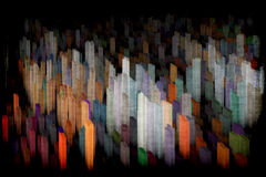 Город искусства Стоковая Фотография RF