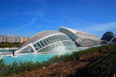Город искусств и наук, Валенсии, Испании Стоковые Фотографии RF