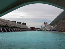Город искусств и наук, Валенсии Стоковое Изображение RF