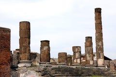 Город Италия Помпеи старый римский Стоковая Фотография RF