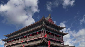 Городища Xian Sian, XI ` старая столица Китая сток-видео