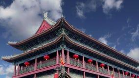 Городища Xian Sian, XI ` старая столица Китая акции видеоматериалы