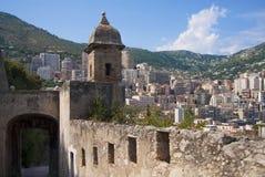 Городище в Монако стоковое изображение