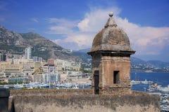 Городище в Монако стоковое изображение rf